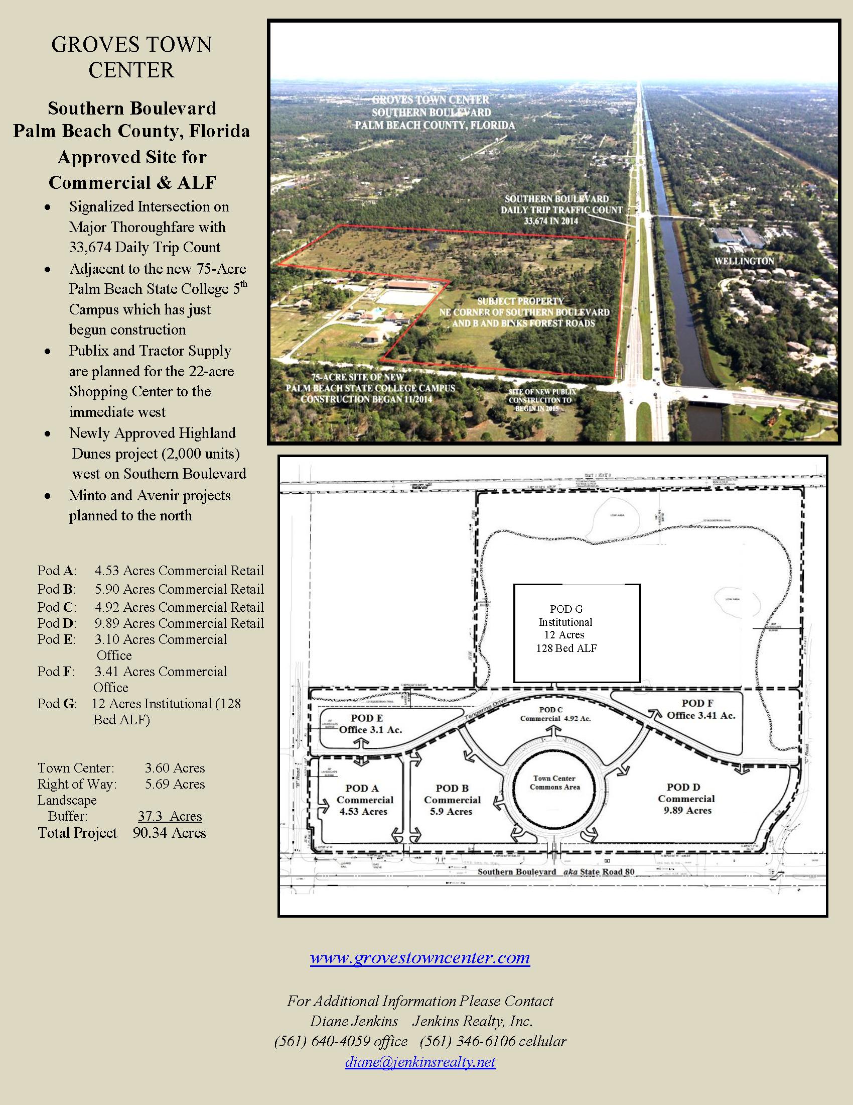 Groves Town Center Flyer1